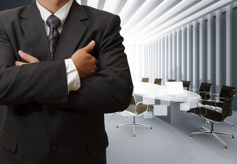 Business Man Success And Board Room