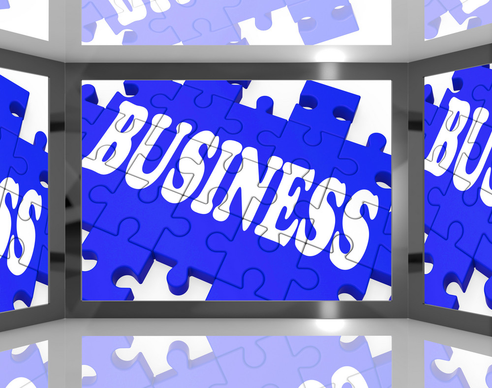 Business On Screen Shows Corporation Marketing
