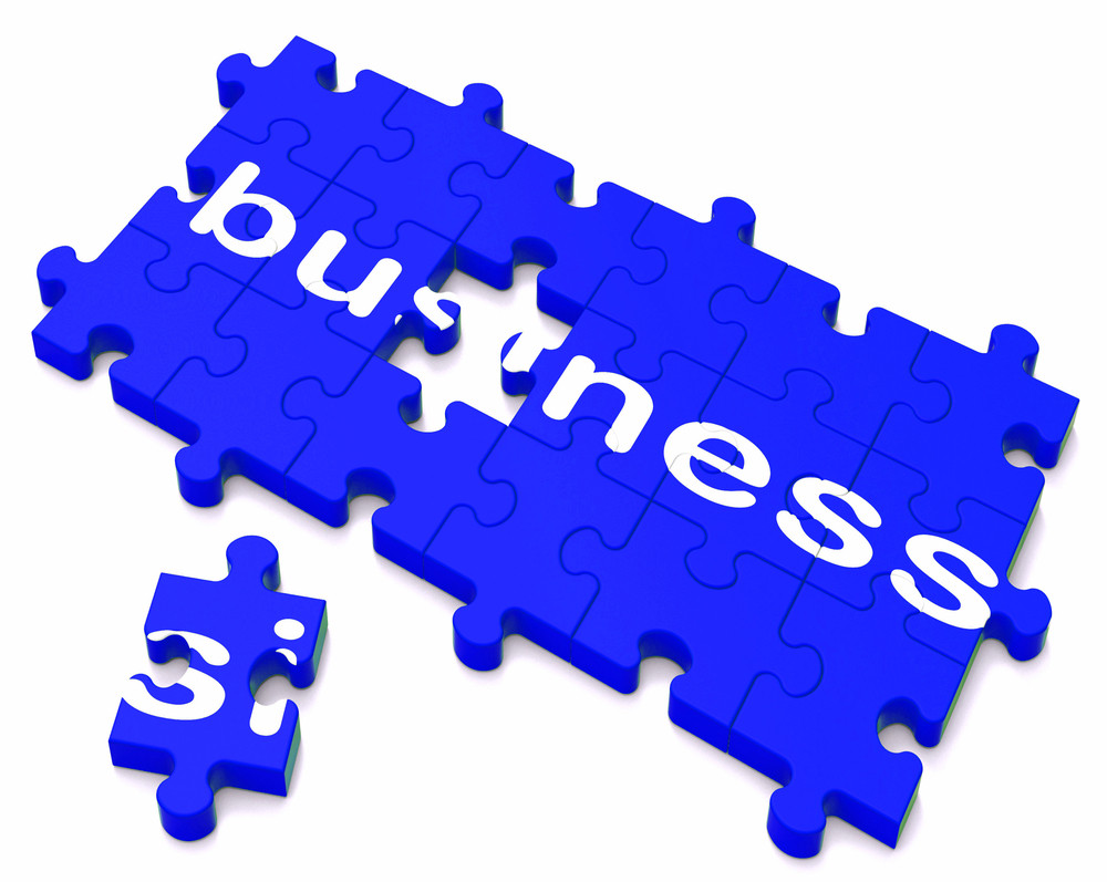 Business Sign Showing Commerce And Deals
