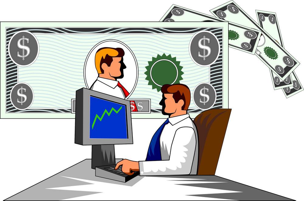Businessman With Money