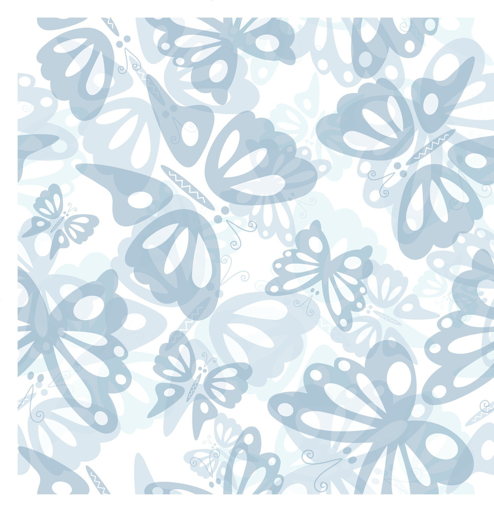 Butterfly Seamless Pattern-
