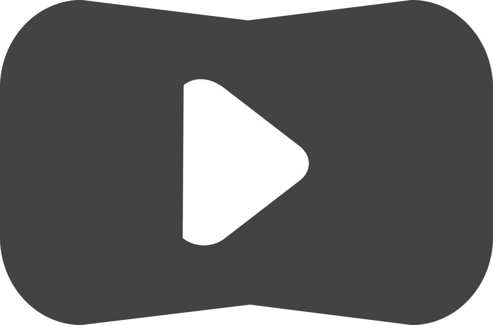Button Play 1 Glyph Icon