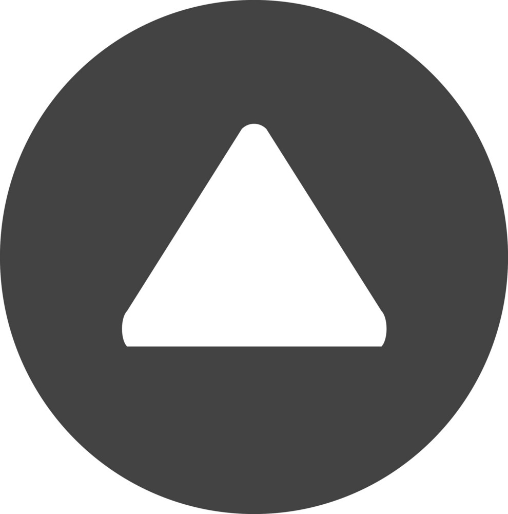 Button Up 1 Glyph Icon