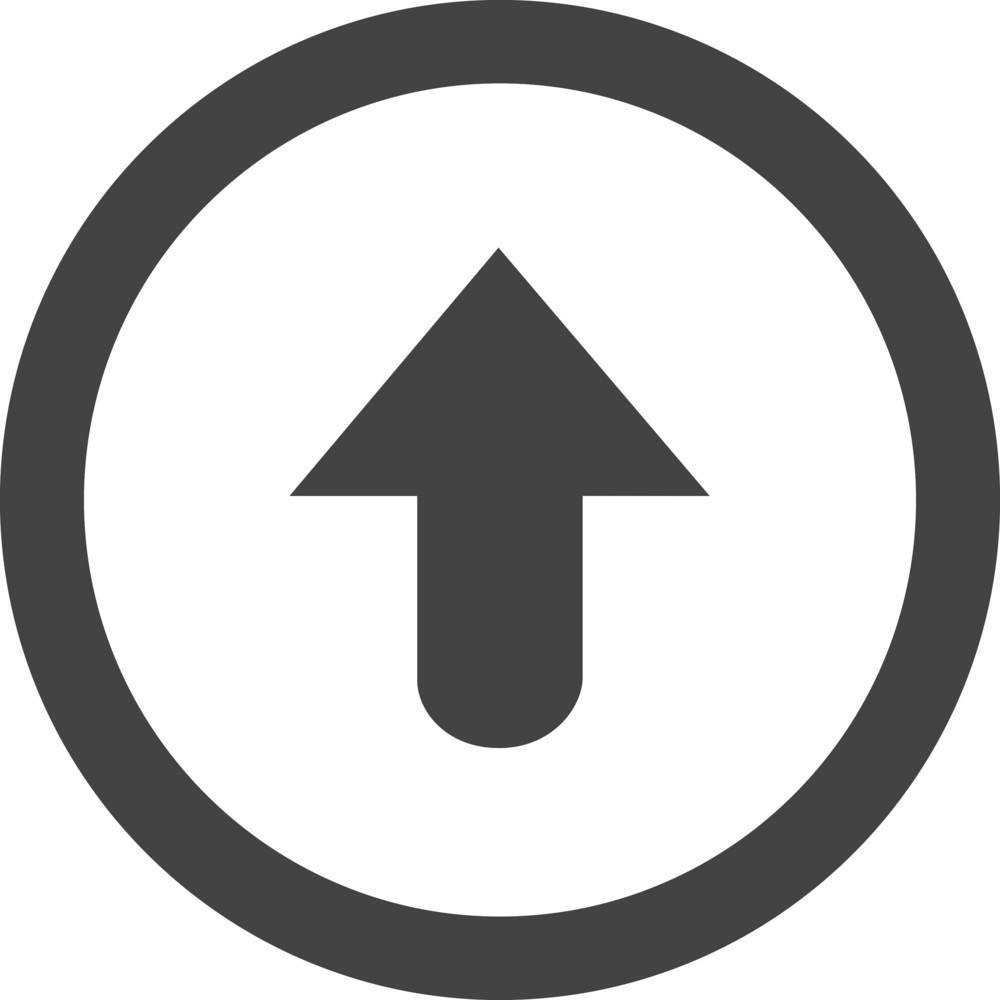 Button Up Glyph Icon