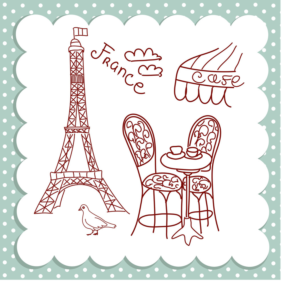 Cafe In Paris-