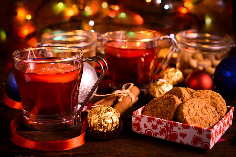 Chá e bolinhos