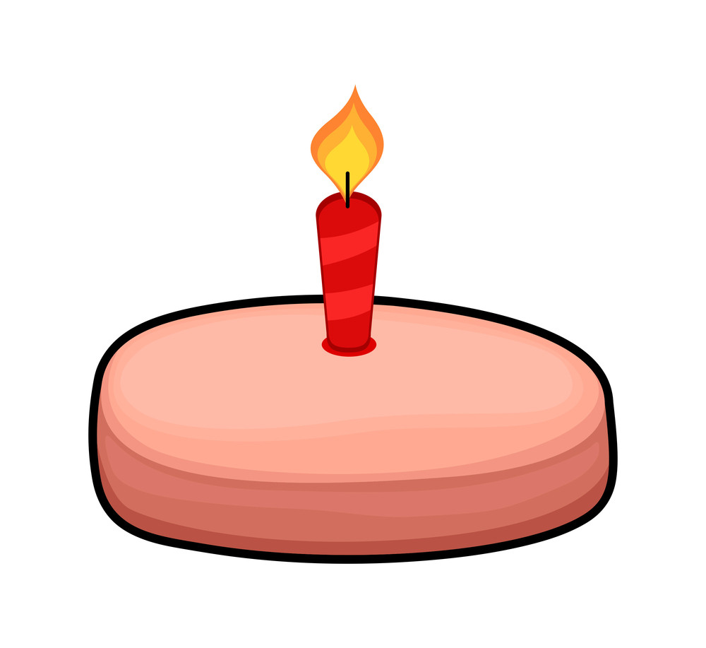 Cake With Candle