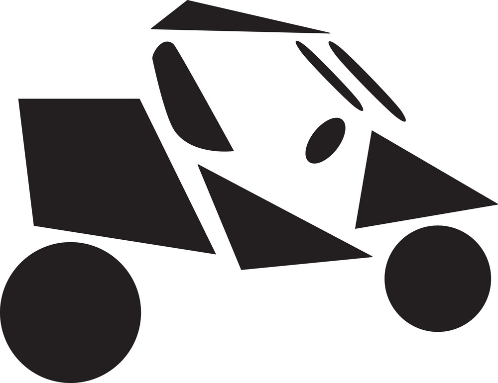 Black And White Buggy.