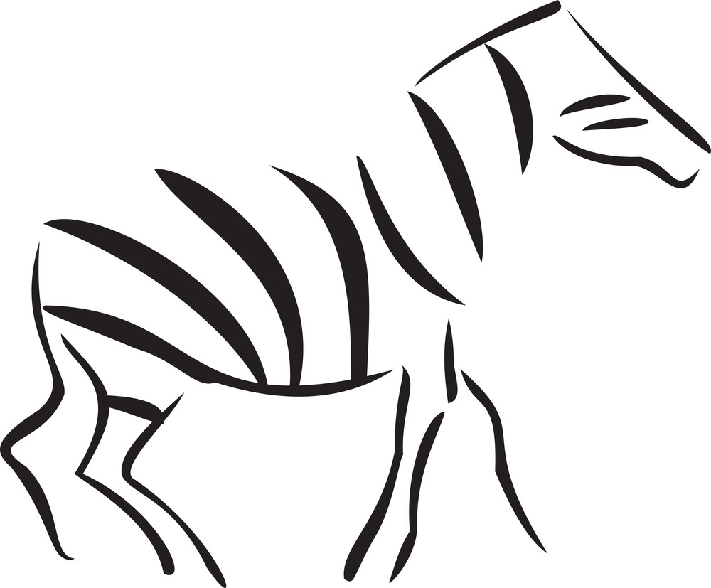 Concept Of African Animal.