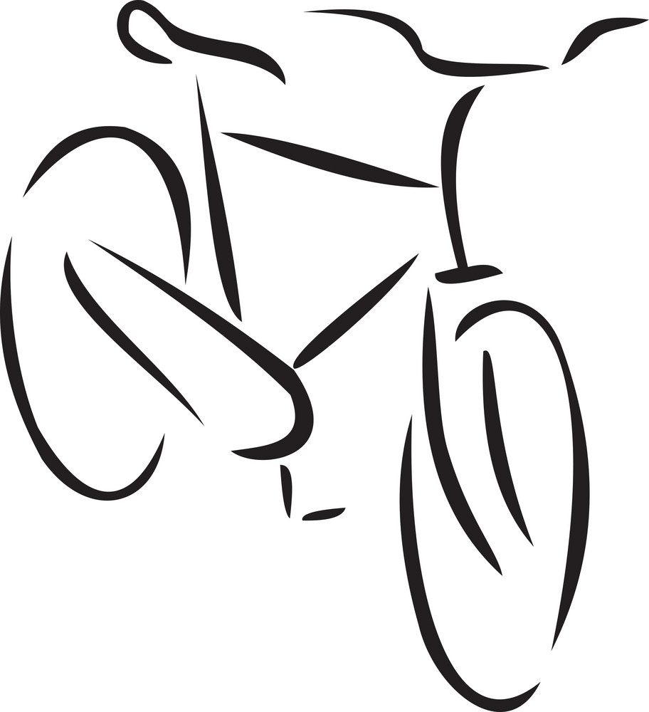 Illustration Of A Bicycle.