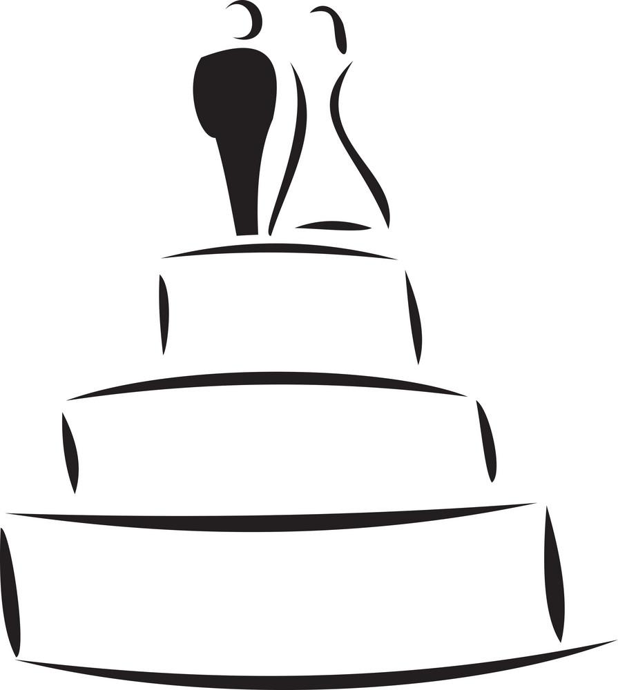 Concept Of Celebrating Wedding.