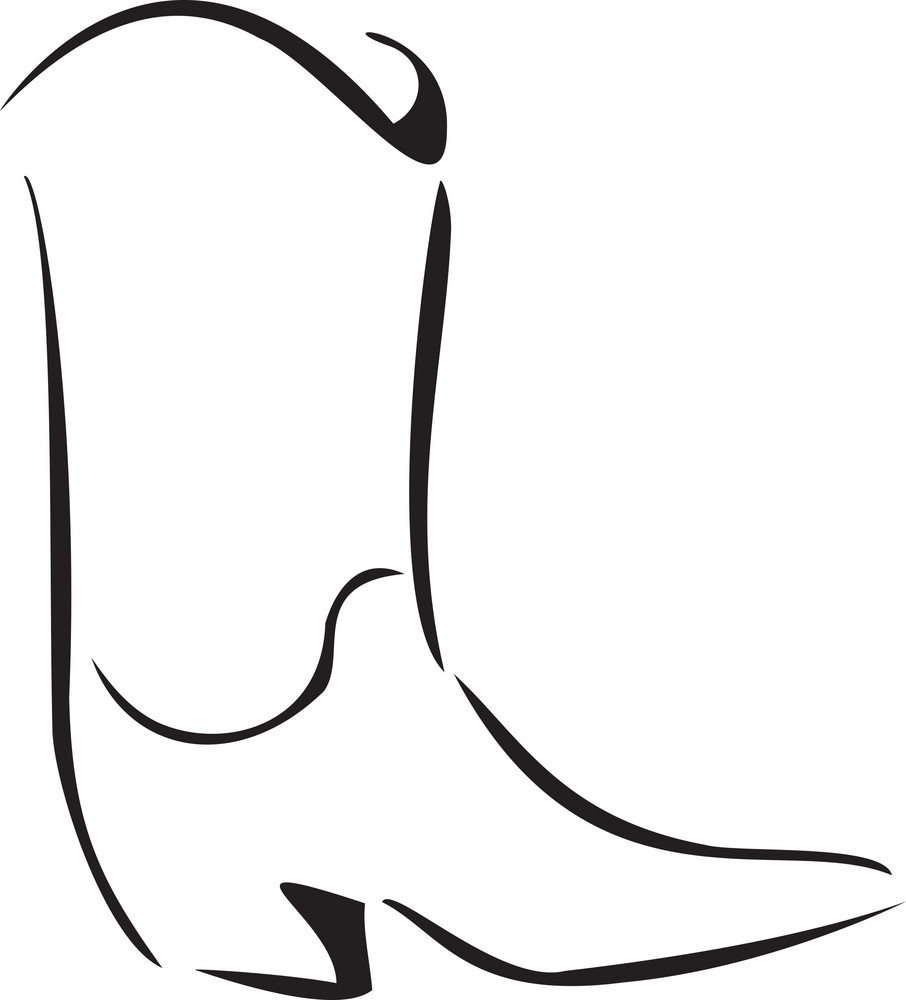 Concept Of Men Footwear With Boot.