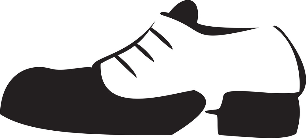Illustration Of Sports Shoes.