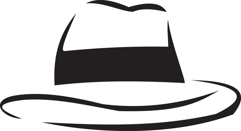 Illustration Of A Cow Boy's Hat.