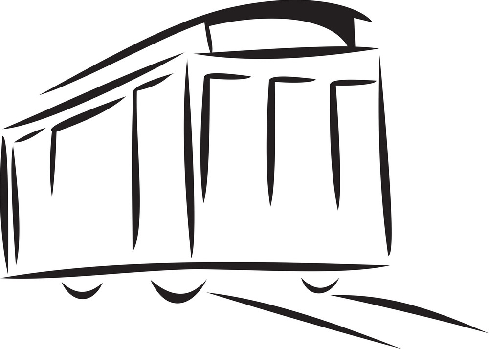 Illustration Of A Train Bogie.