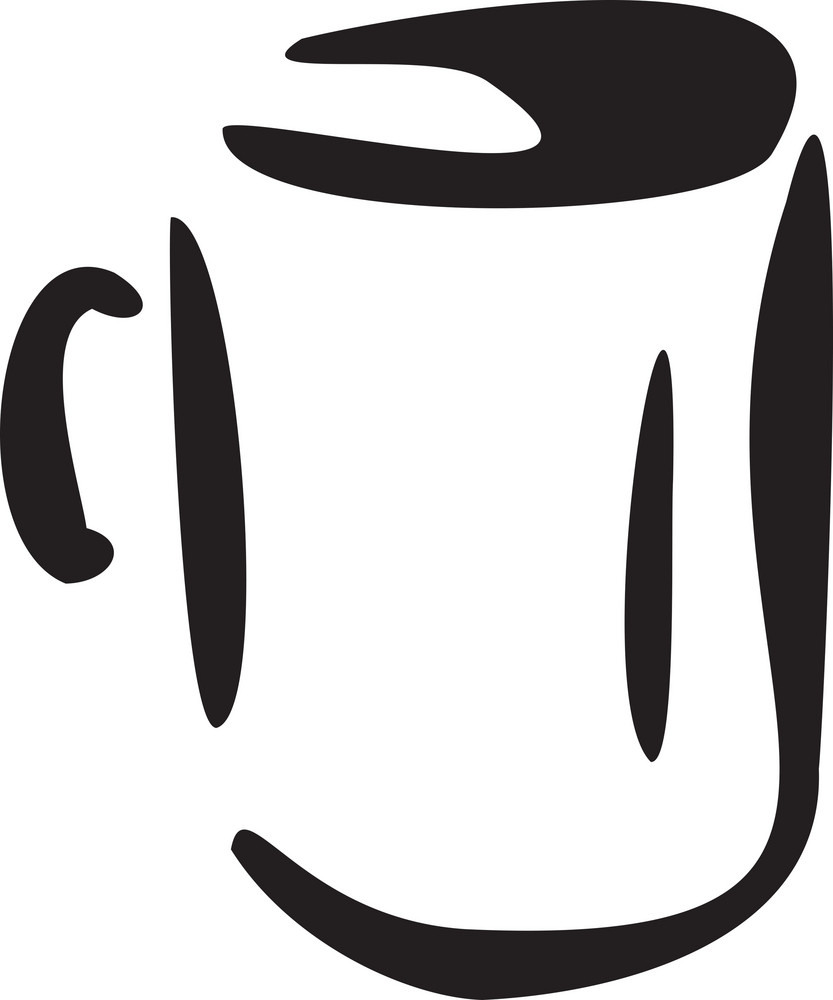 Illustration Of A Cup.