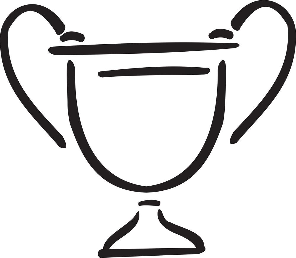 Illustration Of A Trophy.