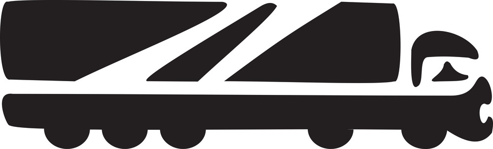 Illustration Of A Truck.