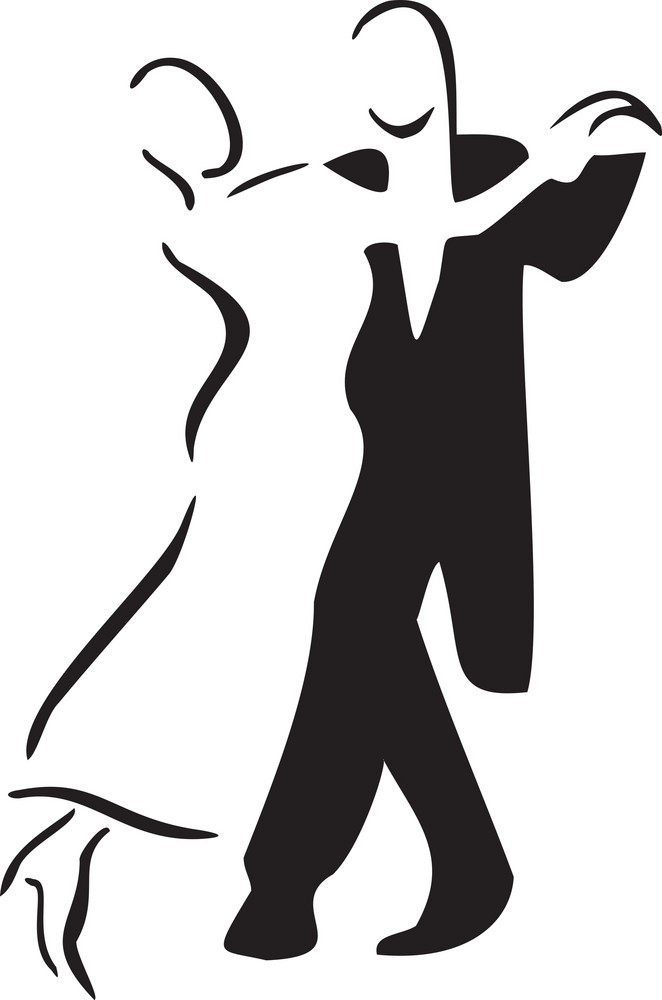 Concept Of Dance With Couple.