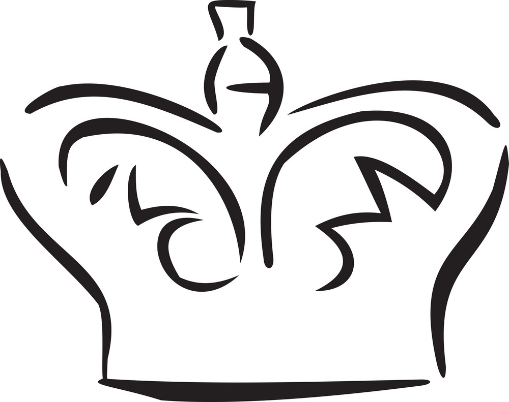 Illustration Of A Crown Of Monarchy.