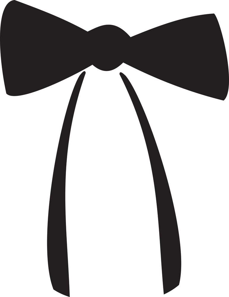 Illustration Of A Bow Tie.