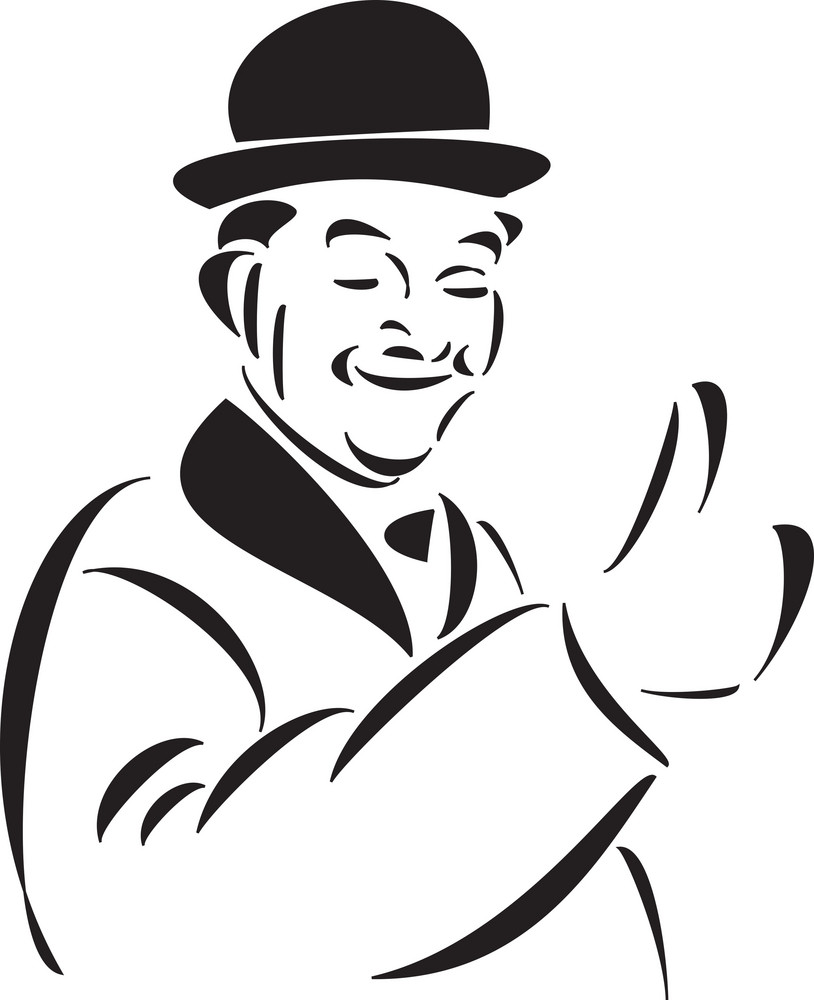 Illustration Of A Comedian.