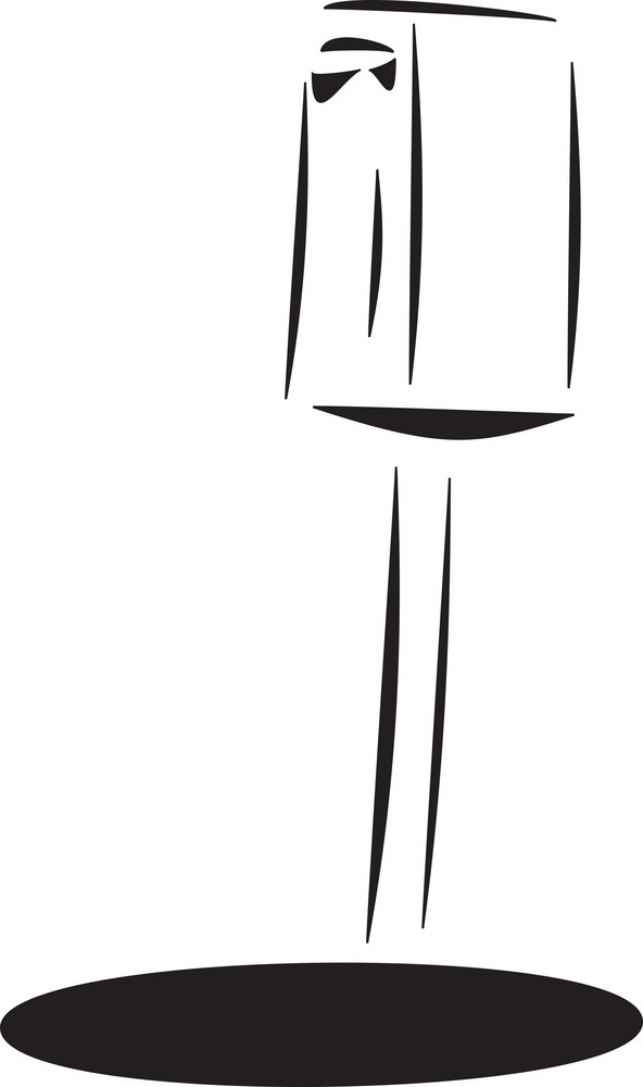 Illustration Of A Post Box.