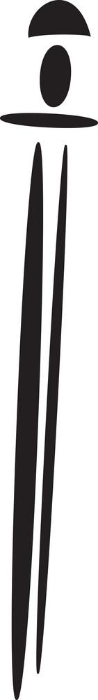 Illustration Of Vikings Weapon.