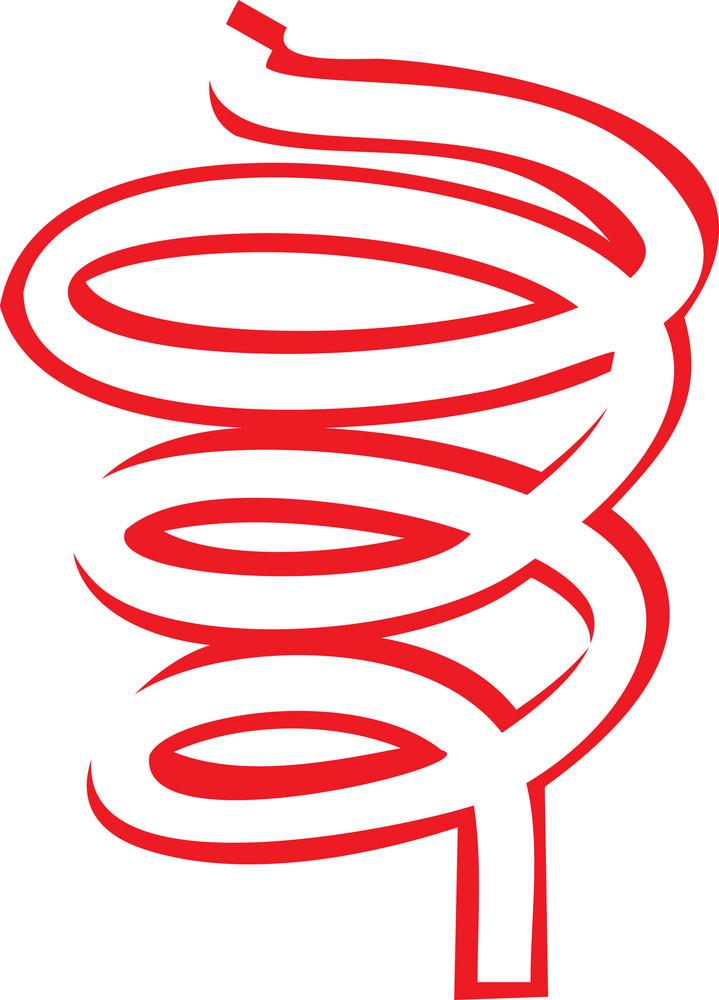 Sketch Of Spiral's Design Element.