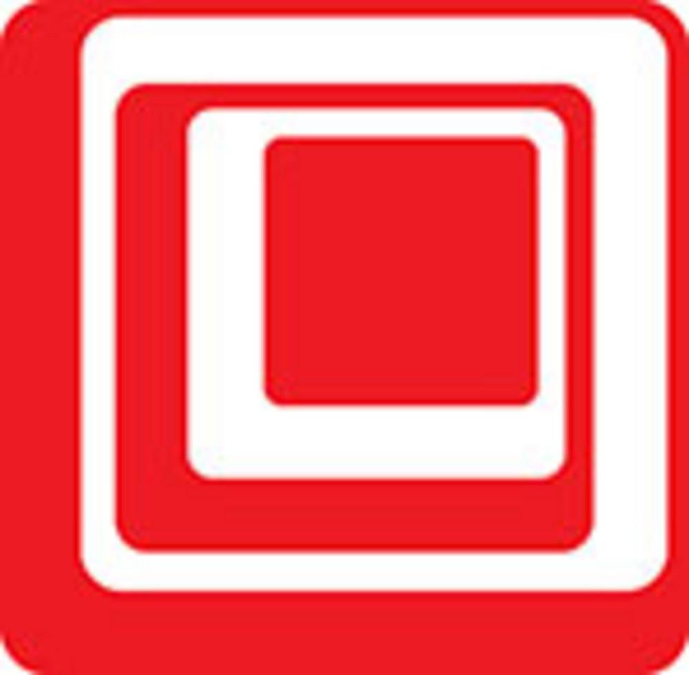 Design Element Of Spiral In Square Shape.