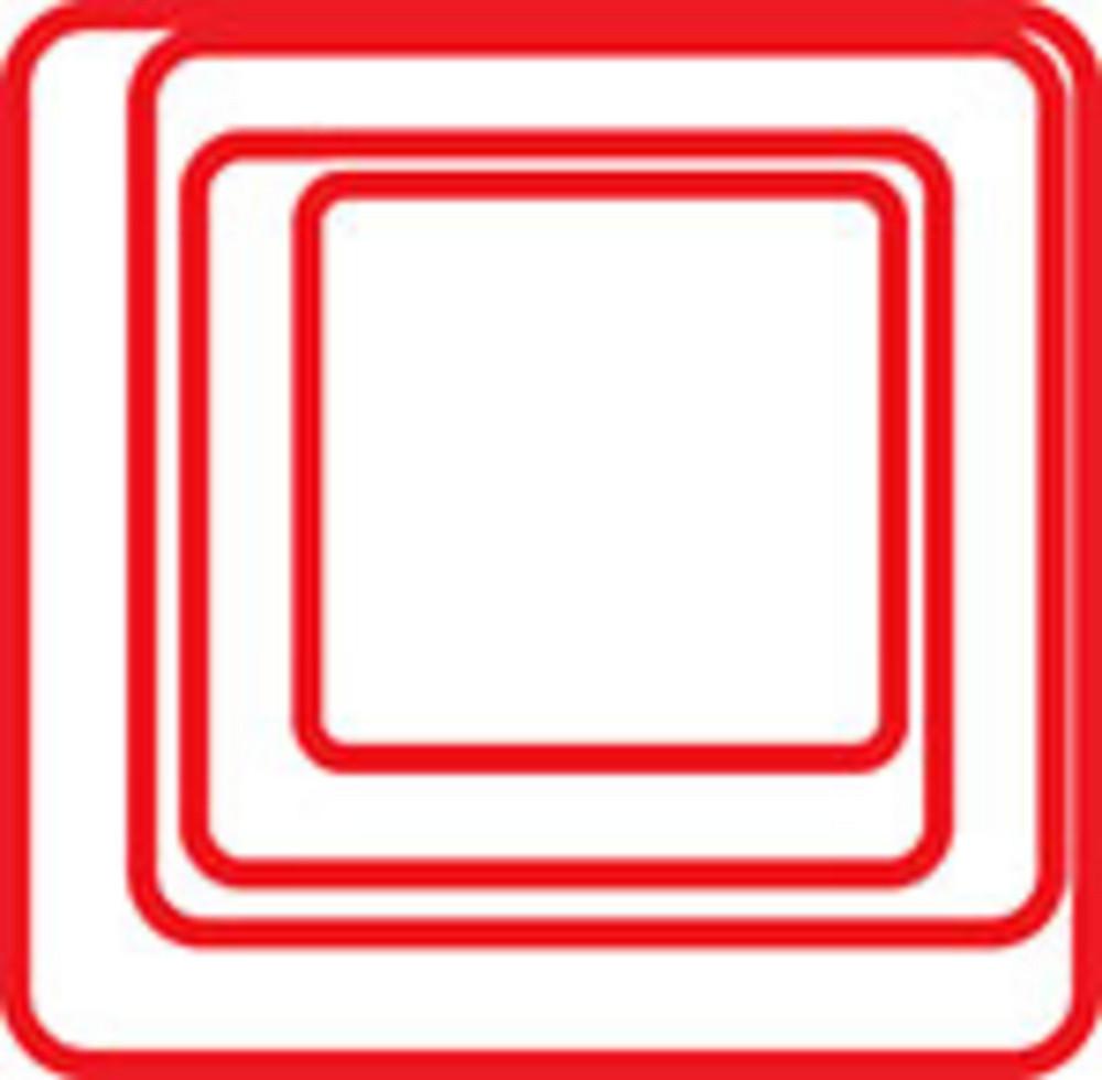 Design Element Of Square Spiral.