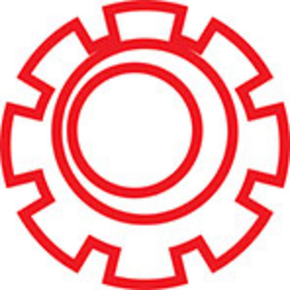 Design Element Of A Cog Wheel.