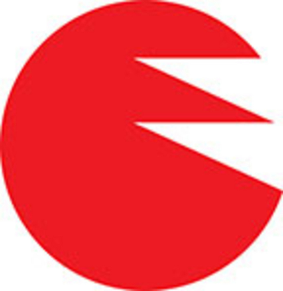 Design Element Of Half Circle With Zigzag.