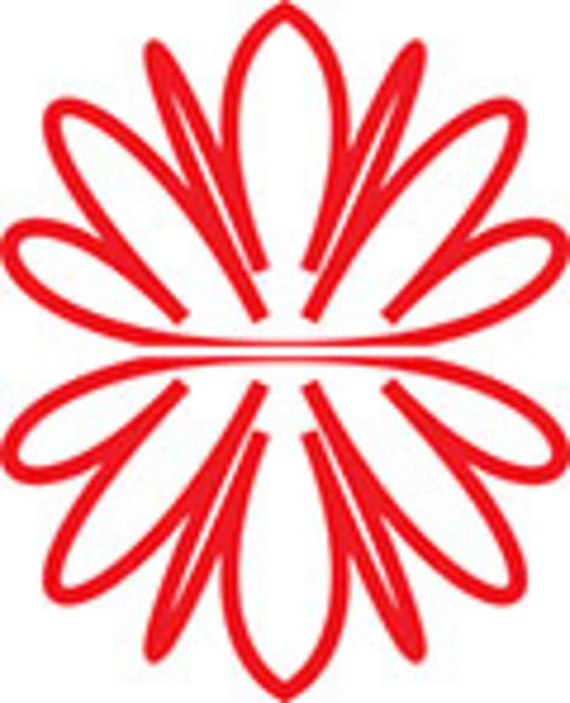 Design Element Of A Flower.