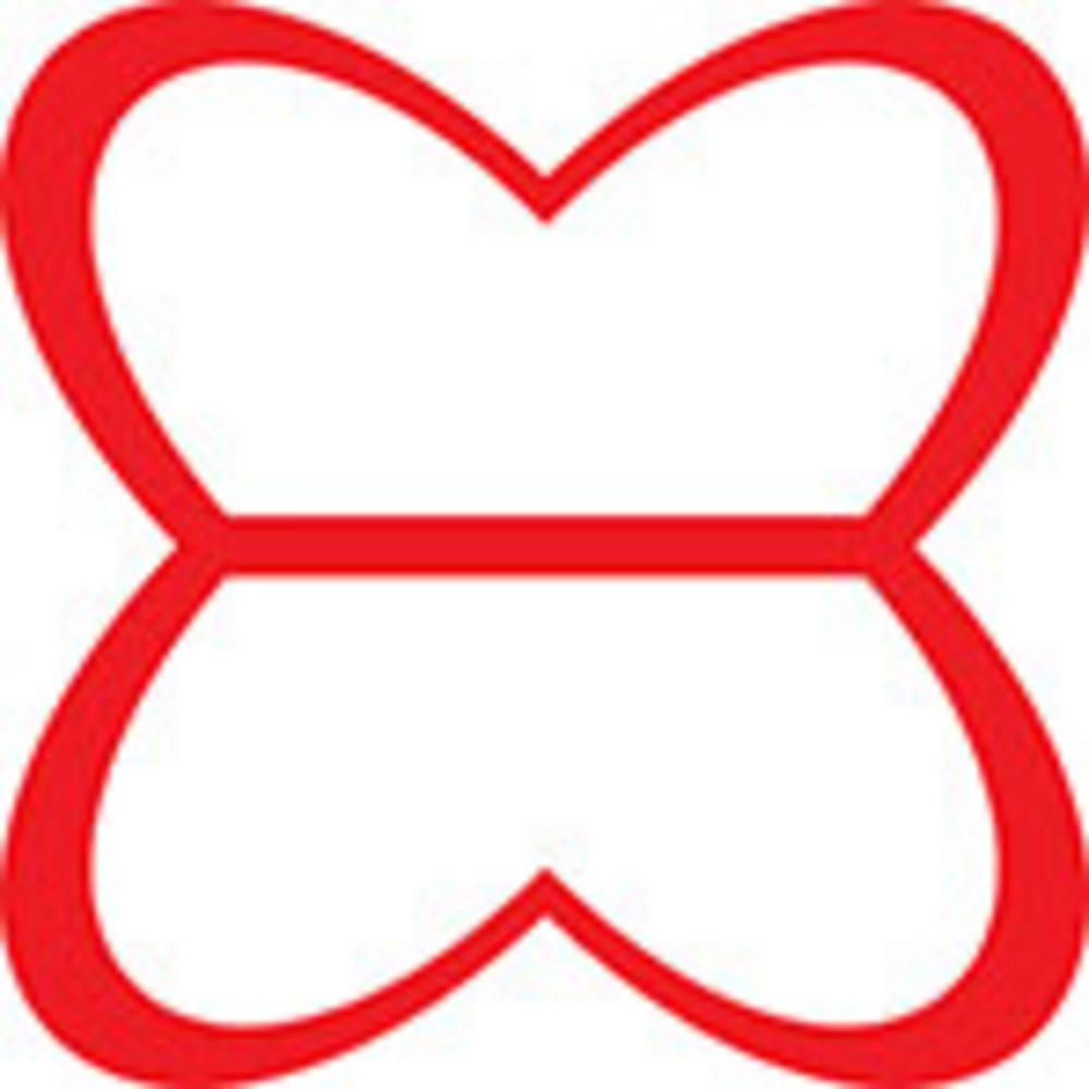Design Element In Butterfly Shape.