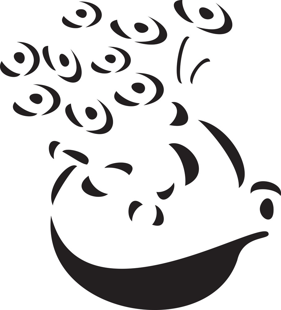 Illustration Of A Flowerpot.