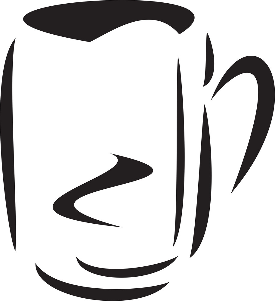 Illustration Of A Coffee Mug.