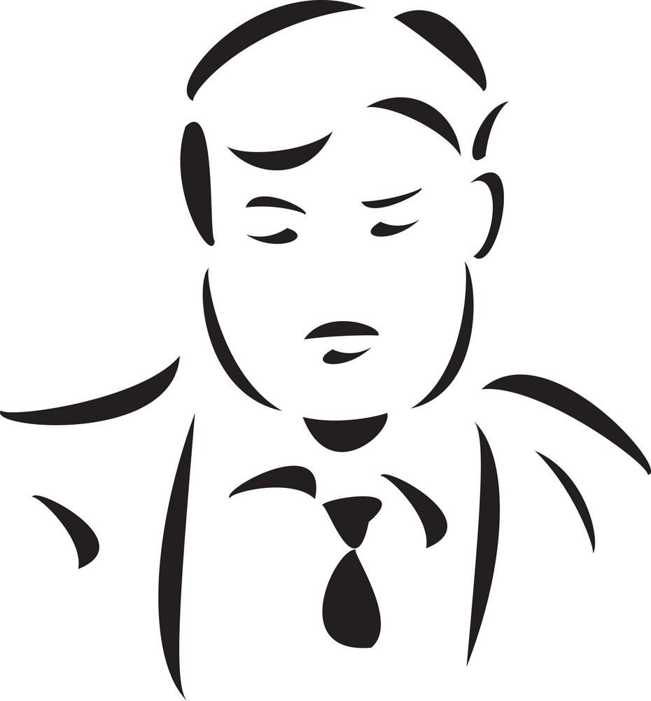 Illustration Of A Speaker.