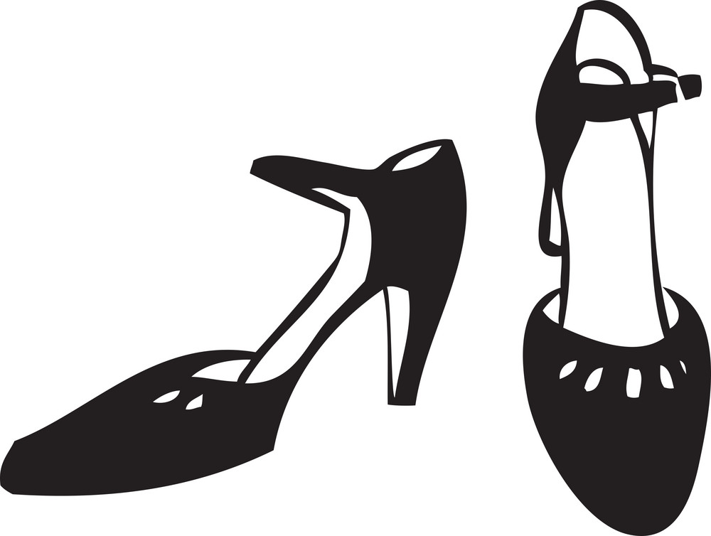 Illustration Of A Lady Sandal.