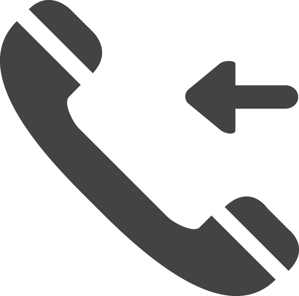 Calling 1 Glyph Icon