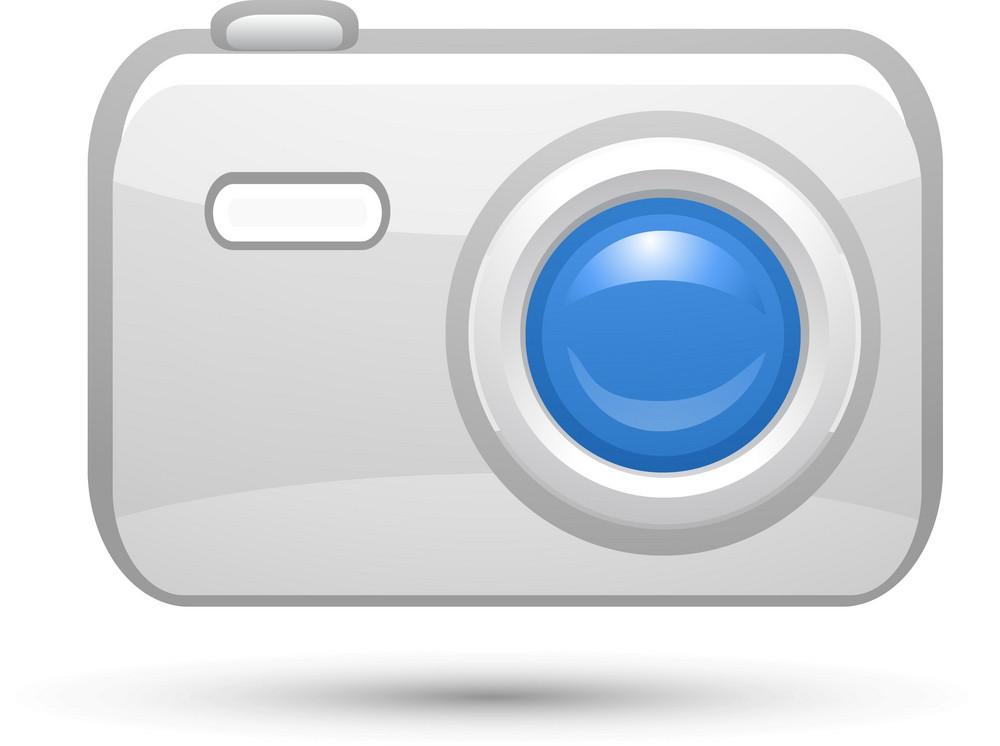 Camera Blue Lite Computer Icon