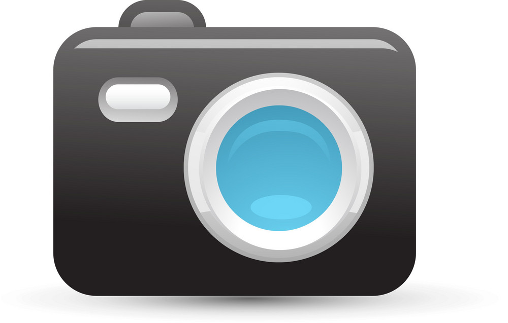 Camera Blue Lite Media Icon