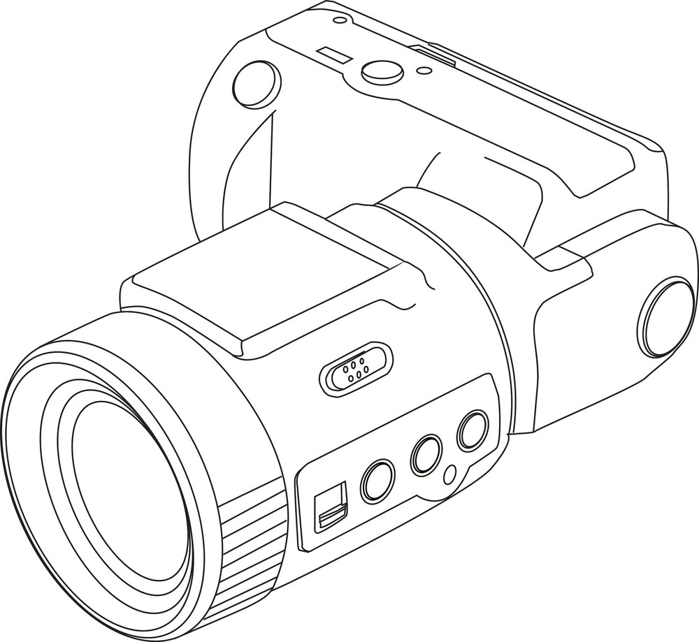 Line Drawing Camera : Camera line drawing royalty free stock image storyblocks