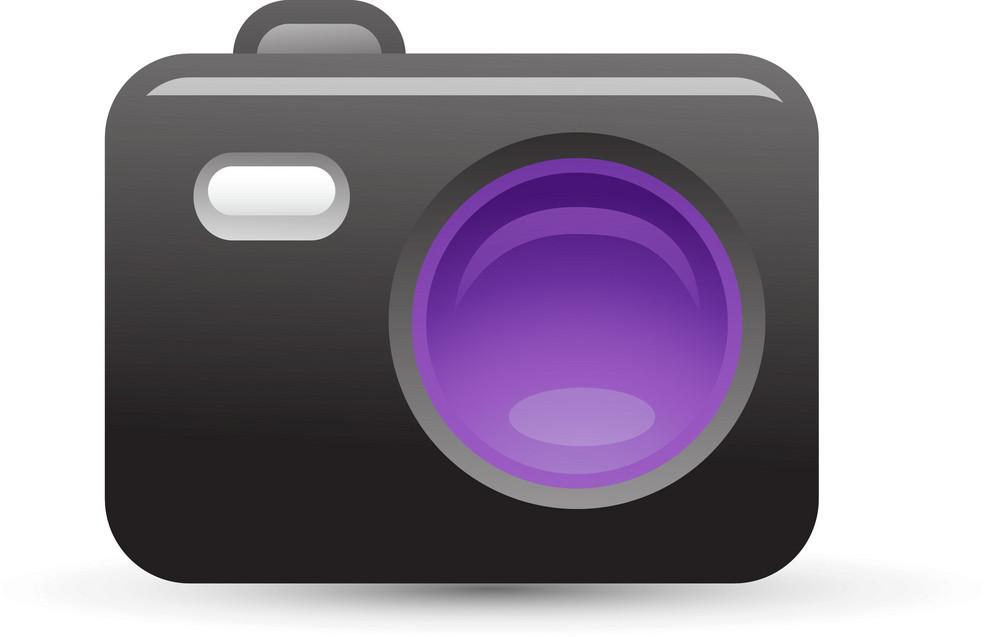 Camera Purple Lite Media Icon