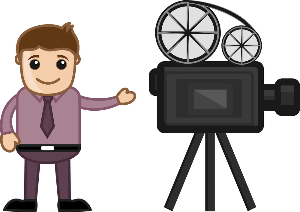 Cameraman - Career Choice - Business Cartoons
