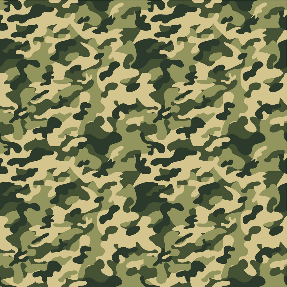 Green Camouflage Pattern Royalty-Free Stock Image