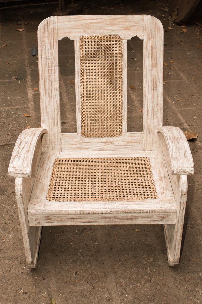 Cane-chair