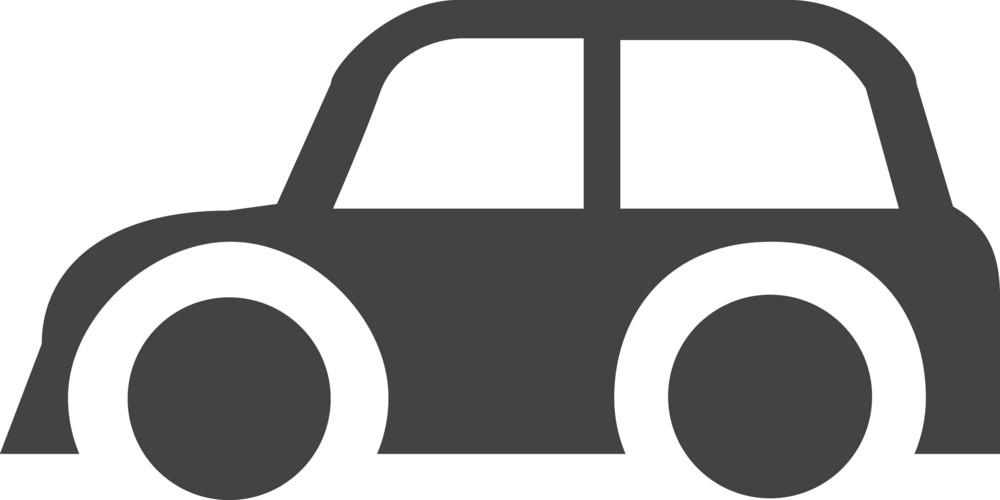 Car Glyph Icon