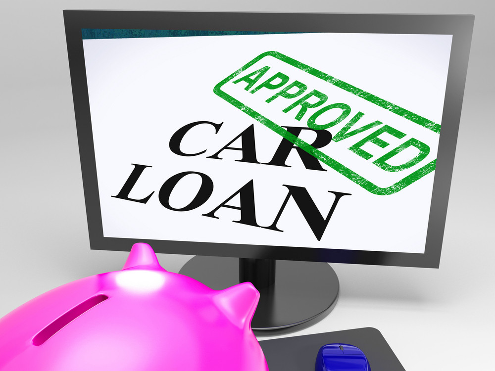 Car Loan Approved Shows Vehicle Credit Confirmed