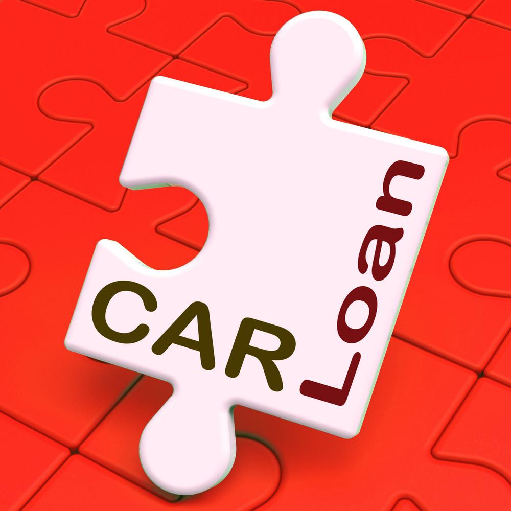 Car Loan Shows Auto Finance